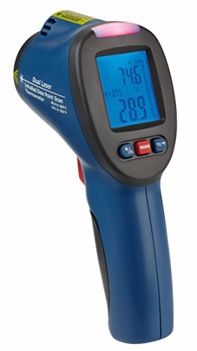 TFA Dostmann Mould Detector–Non-Contact Infrared Thermometer with...