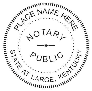 Kentucky Notary Seal - 1