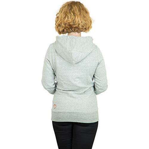 Capucha Sudadera Verde Mujer Ragwear Con Para qR1WqET