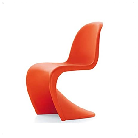 amazon com panton chair by vitra color classic red chairs