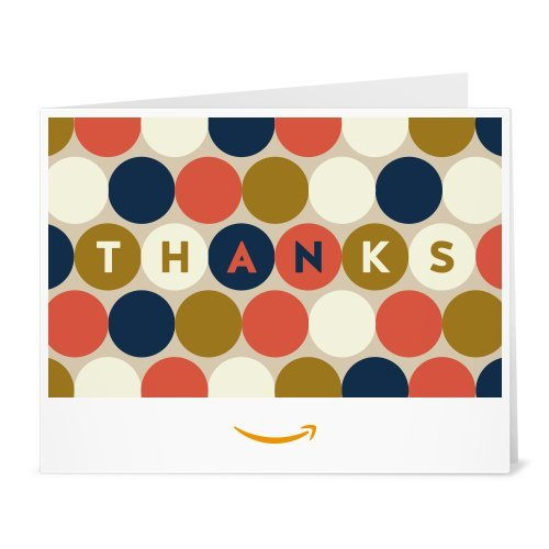 Amazon Gift Card - Print - Thank You (Circles)