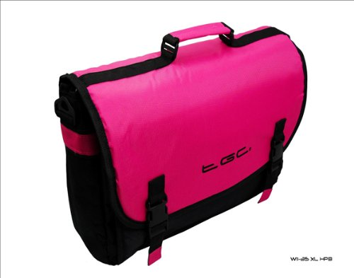 14 Vizio Hot Bag CT14 amp; inch Laptops for Pink Messenger Thin Black Style Light 4gqFC4w