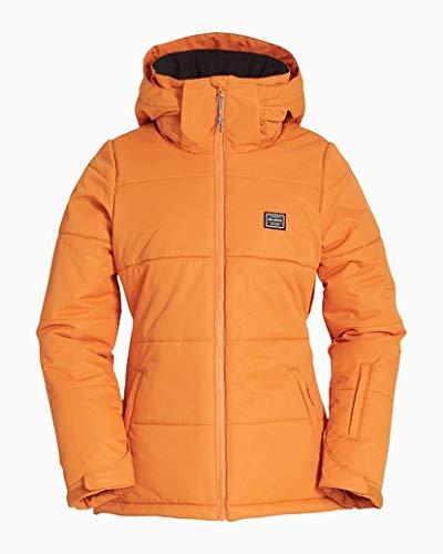 Billabong Women's Down Rider Snow Jacket Orange Large