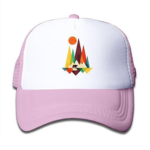 Li2u-id Mountain Bear Child's Cap Adjustable Baseball Hat Sun Cap