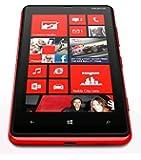 ノキアジャパン Nokia Lumia 820 SIMフリー 海外携帯 (Red レッド)
