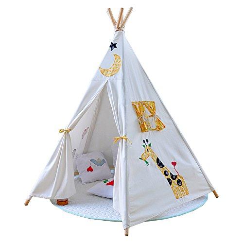 Vplay Indianer Tipi Zelt Kinder Indoor Spielzelt mit Boden fürs ...