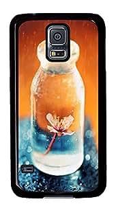 Samsung Galaxy S5 Flower In A Glass Jar PC Custom Samsung Galaxy S5 Case Cover Black