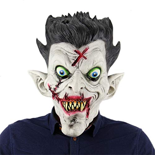 The Scariest Halloween Party Ever (Mask Face Protective Mask for Halloween Cosplay Carnival Costume)