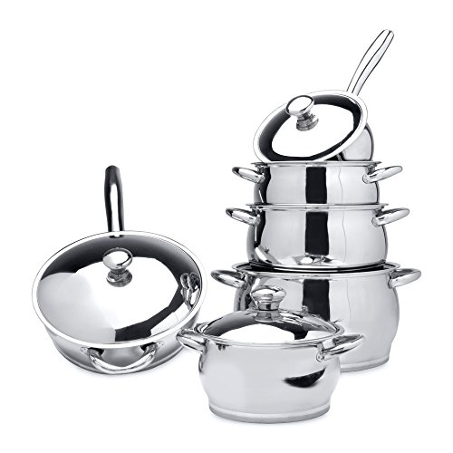 Berghoff pans best kitchen pans for you for Zeno kitchen set