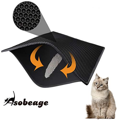 Asobeage Premium Cat Litter Mat(30