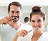 2 Sonic Electric Toothbrushes 5 Modes 8 Brush Heads