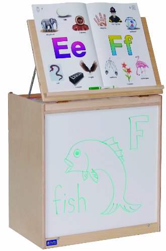 Steffy Wood Products Big Book Easel Storage, (Big Book Easel Storage)