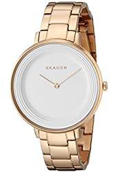 Skagen Women's SKW2331 Analog Display Analog Quartz Rose Gold Watch
