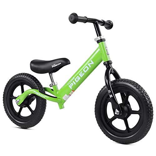 Bicicleta sin pedales Bici Bicicleta para niños de 12 Pulgadas ...