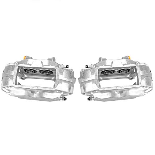 Callahan CCK04786 [2] FRONT Premium Semi-Loaded Original Brake Calipers + Clips [for Ford Mustang SHELBY Base GT S197]