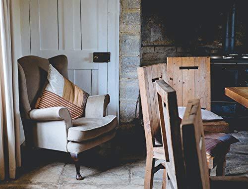 Wood Table Comfortable (Art Print)