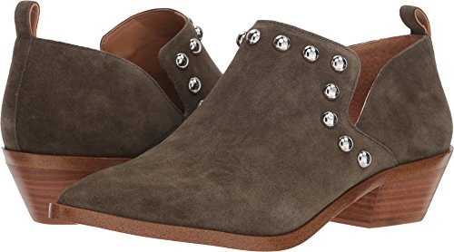 Katen Studded Women's Rebecca Split Olive Booties Minkoff Suede HqznPwEpx