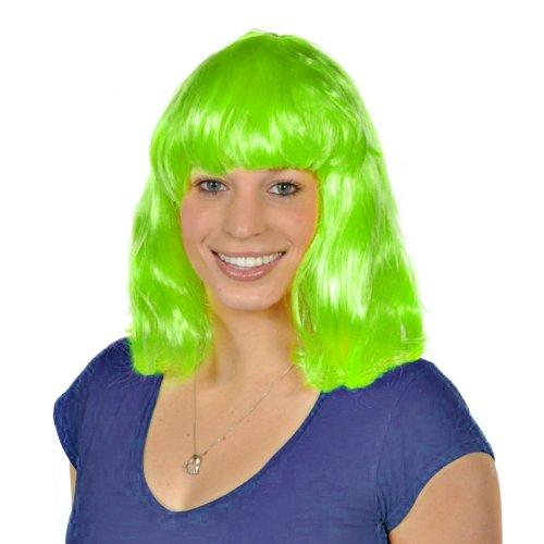[Neon Green Costume Wig] (Neon Green Wigs)