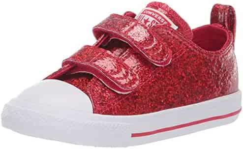 c3a7d034c67 Converse Kids  Chuck Taylor All Star 2v Glitter Low Top Sneaker