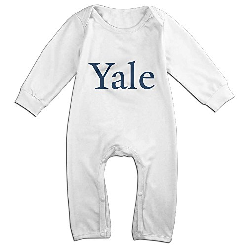 Price comparison product image Cute Yale University Jumpsuit For Toddler White Size 12 Months