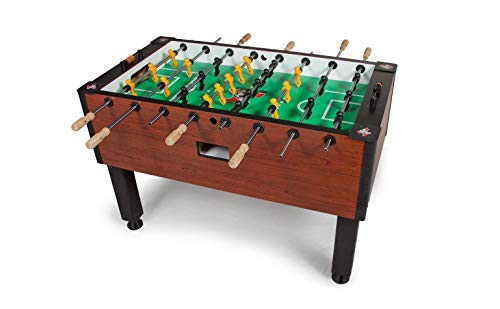 Tornado Elite Foosball Table - Commercial Tournament Quality Table Soccer Game For The Home