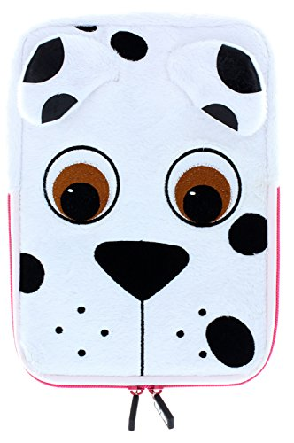 (TabZoo Universal Child Friendly Animal Character Tablet Sleeve Case Cover with Zip for 10 inch Tablets - Dog)