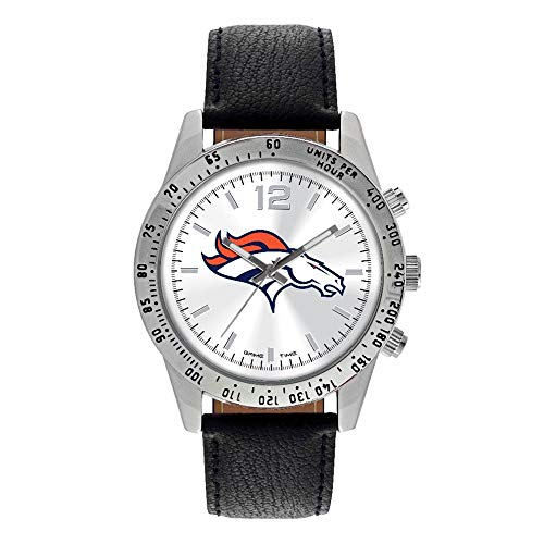 (Gifts Watches NFL Denver Broncos Letterman)