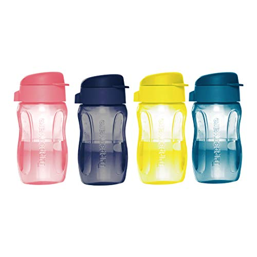 Tupperware Aquaslim 310ml Fliptop Bottle 4pc Price & Reviews