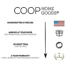 Coop Home Goods Shredded Memory Foam Toddler Pillow-14x19 - White