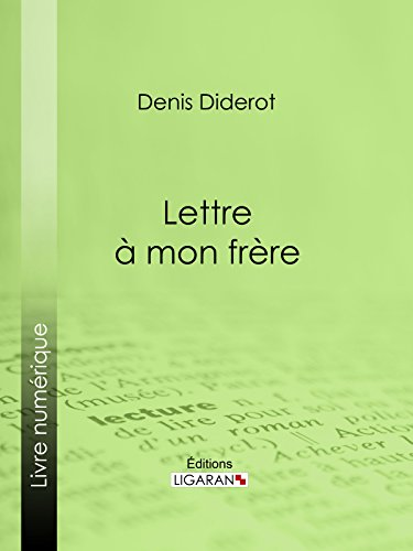 Lettre à mon frère (French Edition)