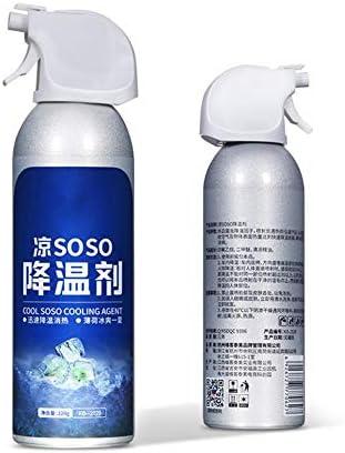 mooderff Llufterfrischer Spray Auto, Schnelles Kühlmittel Sommerkühlung Für Auto/Innenraum