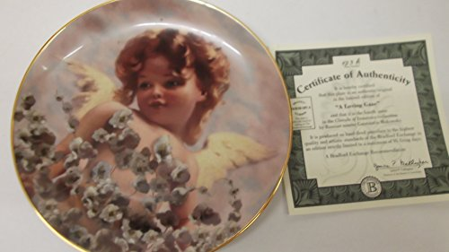 cherubs of innocence a loving gaze plate
