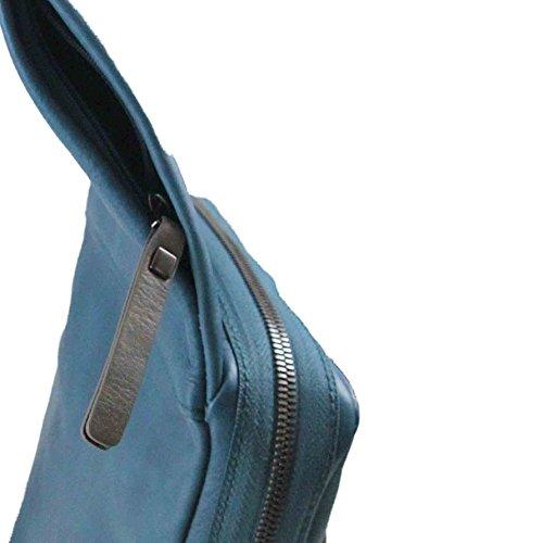 Tracolla Borsello Tau Piquadro iPad®Air / Air2 Case Blu