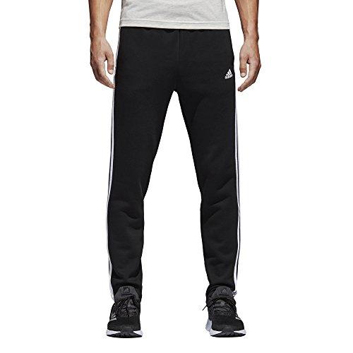adidas Men's Athletics Essential Cotton 3 Stripe Tapered Pants