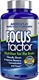 Focus Factor Nutrition for The Brain - Improves Memory & Concentration - DMAE, B6, B12, Bacopa - America's #1 Clinically Proven Brain Booster Supplement (150 Count)