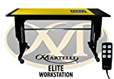 Martelli Advantage & Martelli Elite Workstation Kit - Quilting, Sewing and Crafting Table - Promotional Package Includes Table and Accessories - Made in USA! (Elite)