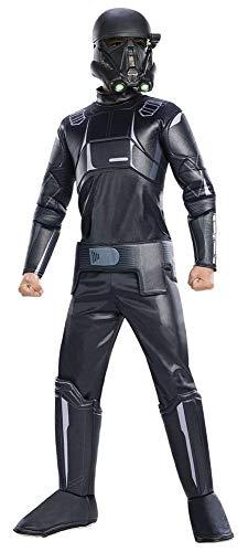 Rogue One: AStar WarsStory Child's Deluxe Death Trooper Costume, Medium -