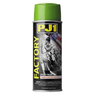 PJ1 Color Matched Frame Paint 99-02 Kawasaki Green 12 oz.