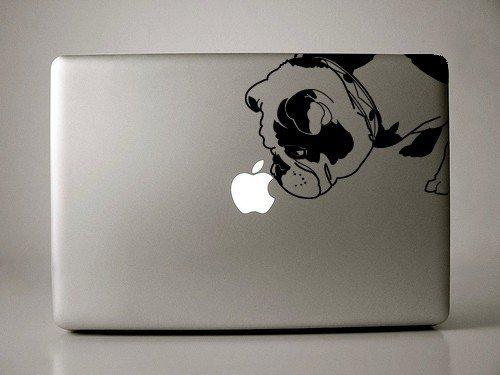 Brit the English Bulldog - Black - Decal for 13