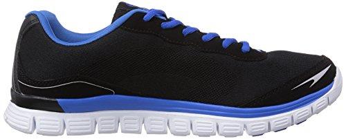 Gerli 161 Schwarz Dockers Schwarz Hellblau Sneakers Noir homme 36LN001 by basses R66wBv5x