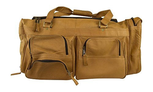 Latico Deluxe Travel 7721 Duffel Bag,Natural,One Size by Latico