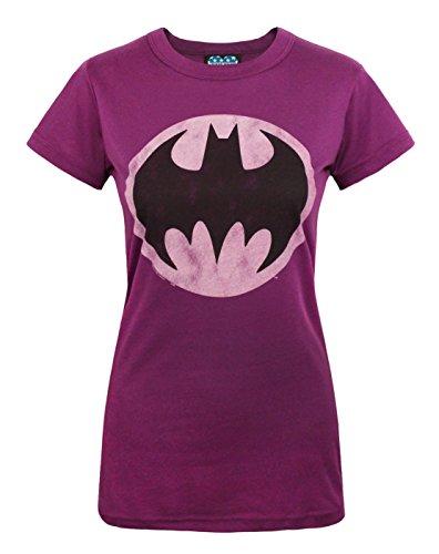 Junk Food Batman Bat Signal Women's T-Shirt (Junk Food Batman)