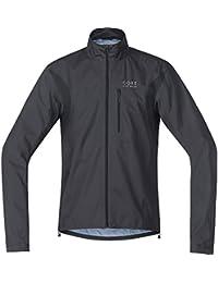 Men's Cycling Rain Jacket, Super Light, GORE-TEX, Jacket, Size: S, Neon Yellow, JGTELE