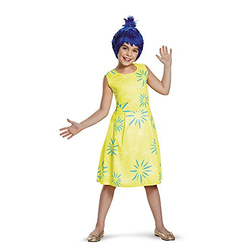 Disguise 86937G Joy Classic Child Costume, Large (10-12)