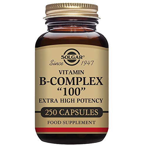 "(Solgar – B-Complex ""100"", 250 Vegetable Capsules)"