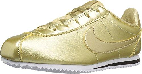277bd299812e ... authentic nike cortez se ps little kids shoes metallic gold star 859570  900 12.5 m us