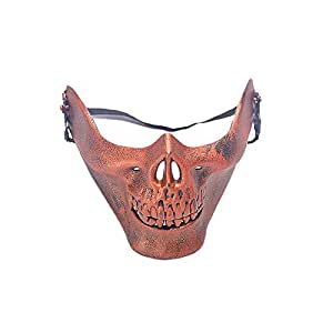 Scary Skull Skeleton Mask Halloween Costume Half Face Masks for Party