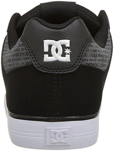 5 D Skate heather Grey Black Us Men's 8 Se Pure Dc Shoe vnzTRqA