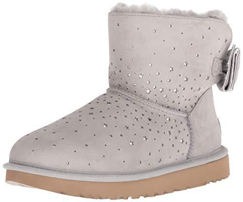 UGG Women's W STARGIRL Bow Mini Fashion Boot, Seal, 7 M US -