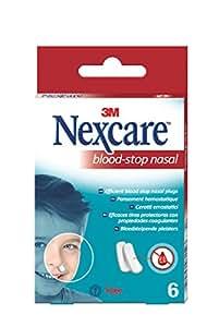 Nexcare Tapones Nasales - Paquete de 6 Tapones: Amazon.es